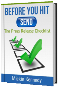 Free Press Release Checklist book from eReleases