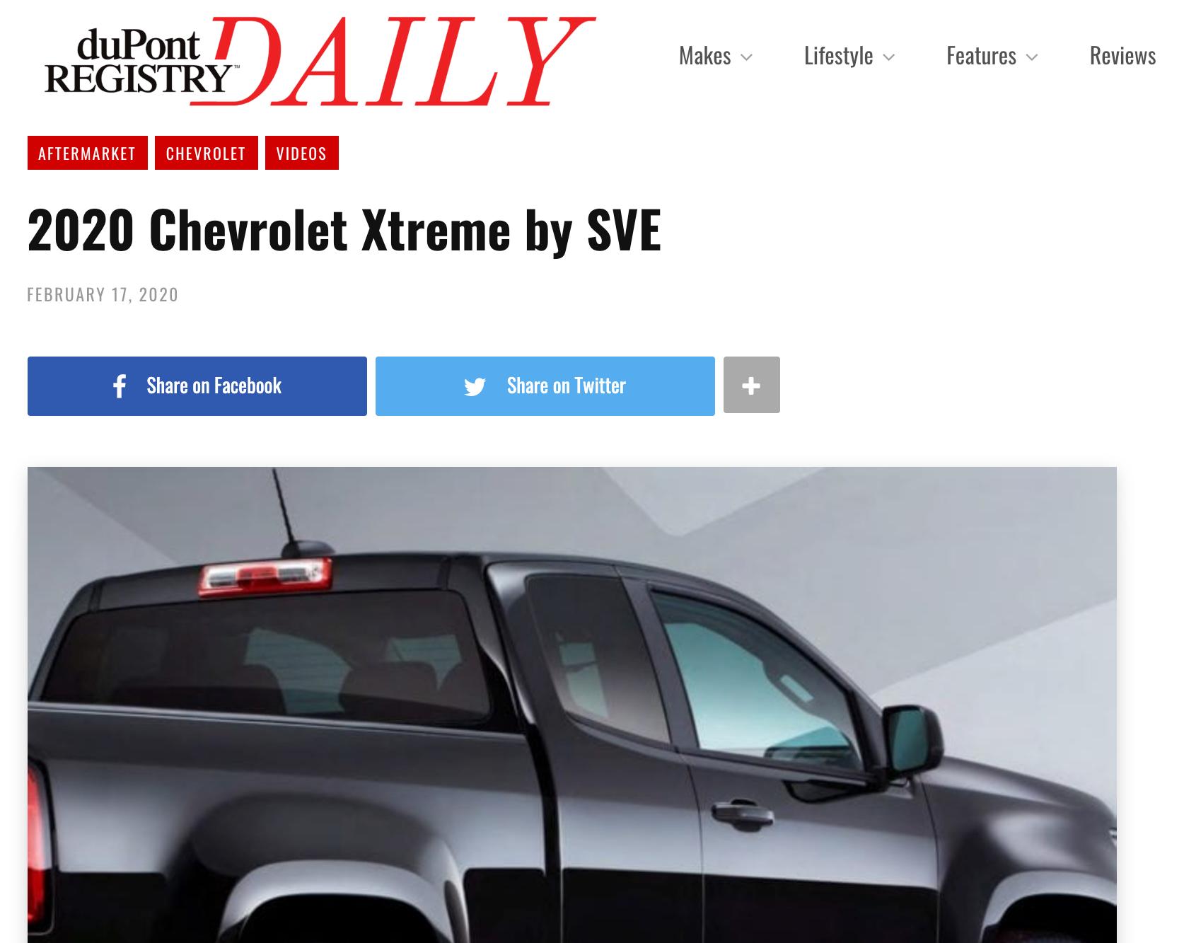 Dupont Registry article - eReleases press release service SVE Case Study