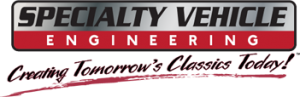 Specialty Vehicle Engineering logo - eReleases press release case study