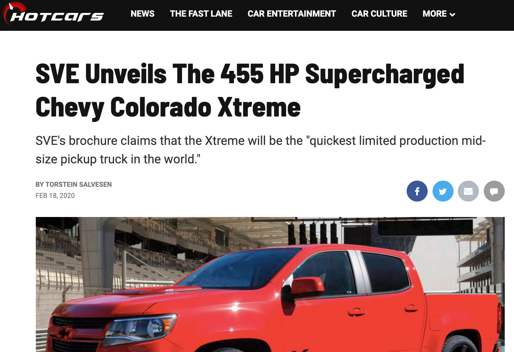 Hot Cars article - eReleases press release service SVE Case Study