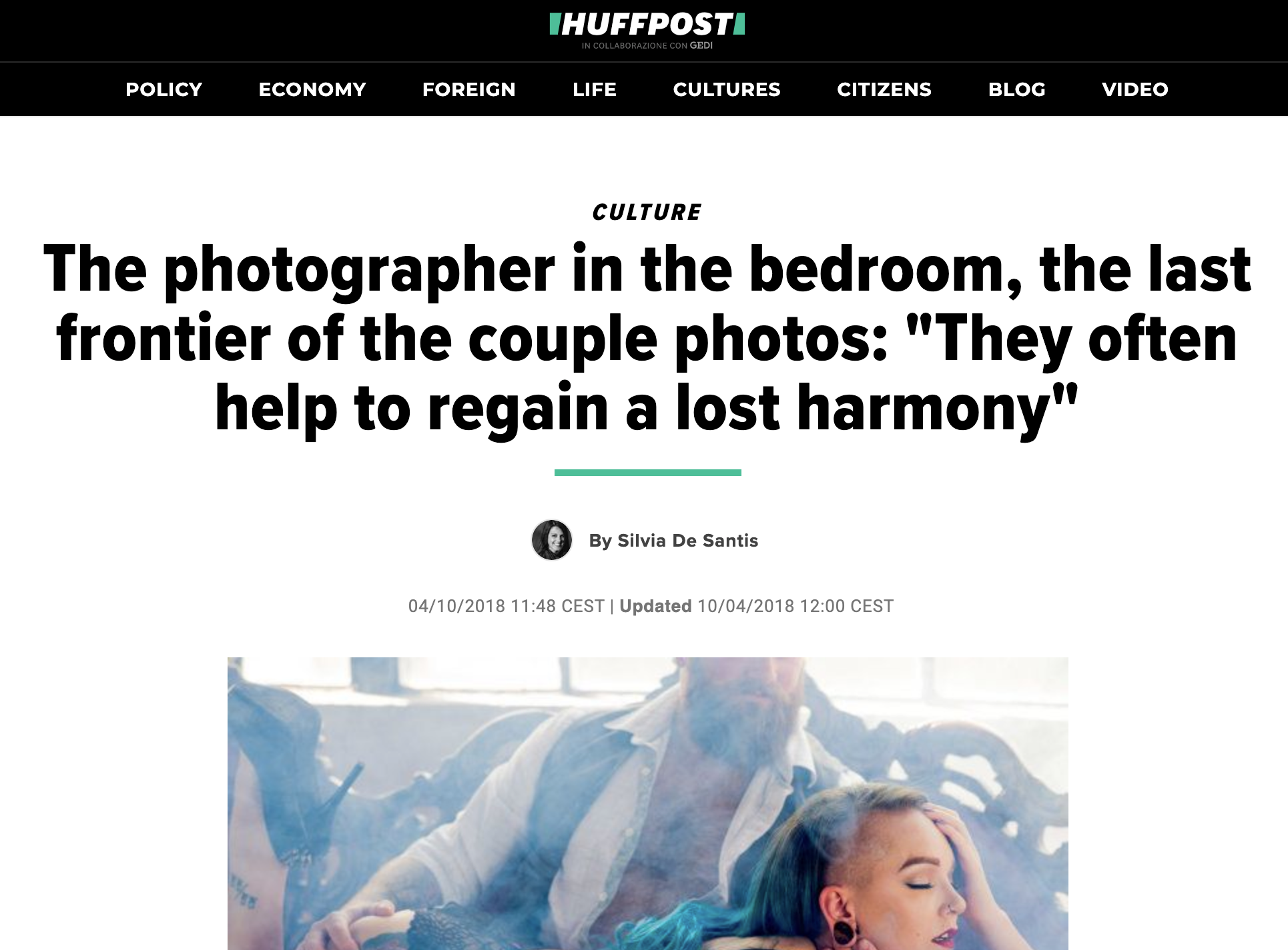 HuffPo article - eReleases press release service Allebach Photography Case Study