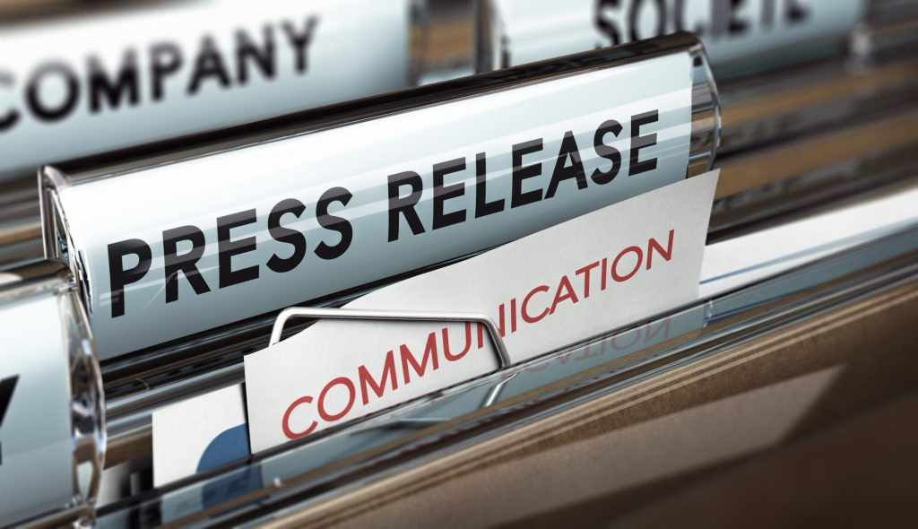 how to distribute a press release