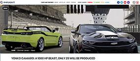 Auto EveryEye.it article - eReleases press release service SVE Case Study