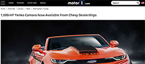 Motor 1 article - eReleases press release service SVE Case Study
