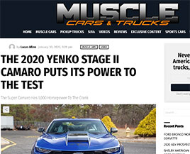 Muscle Cars and Trucks article - eReleases press release service SVE Case Study